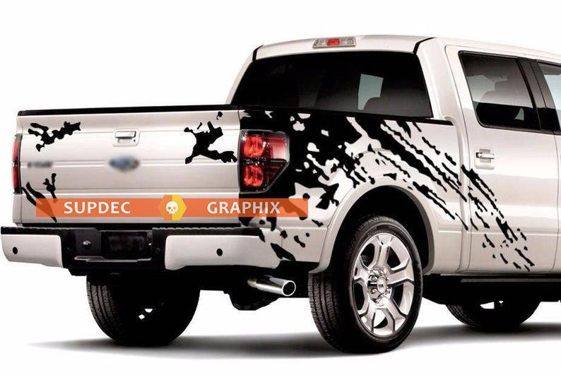 MUD SPLASH GRAPHICS Vinyl Stickers Decals for truck pick up Ford f-150