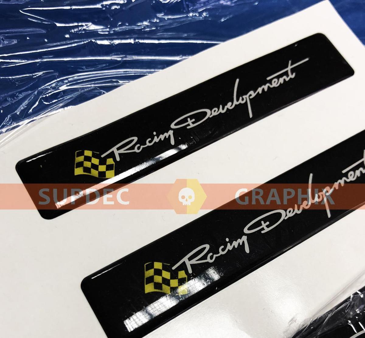 Kuppelaufkleber mit Racing Development-Emblem für Tacoma Tundra FJ Cruiser, passend für TRD