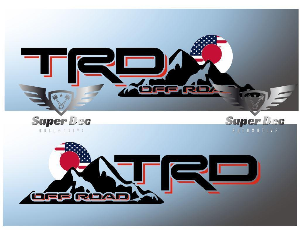 USA Flag Decals for Toyota Fj Cruiser Hardtop Rear window TRD Offroad Tacoma pro