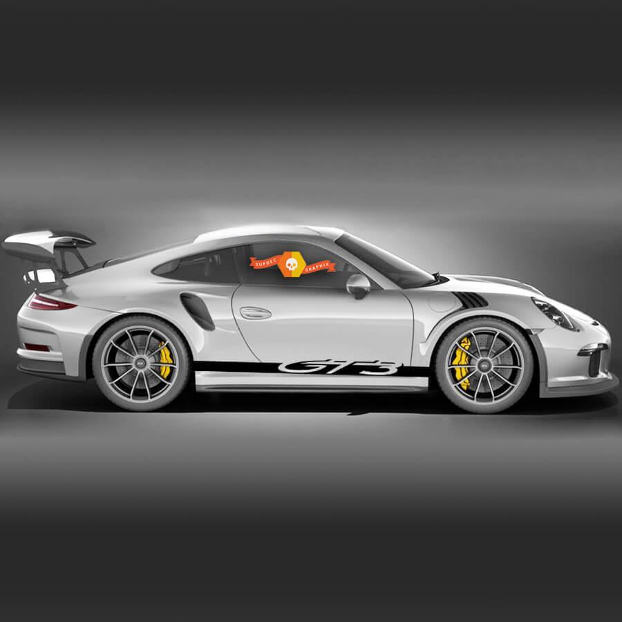 Porsche 911 GT3 Side Stripes Kit Decal Sticker