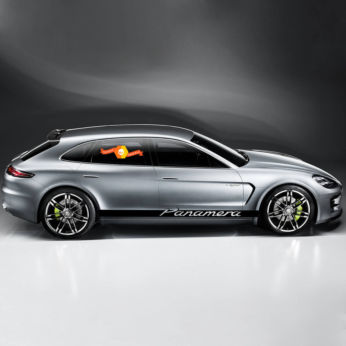 Porsche Panamera Side Stripes Kit Decal Sticker