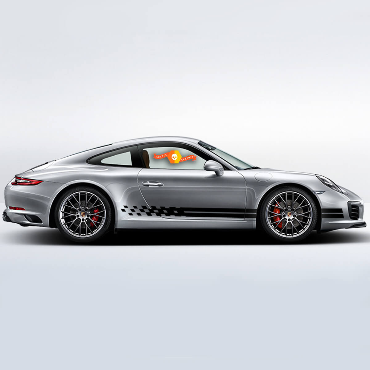Porsche Kit Aufkleber Porsche 911 991 Carrera S Endurance Racing Edition Seitenstreifen Kit Aufkleber