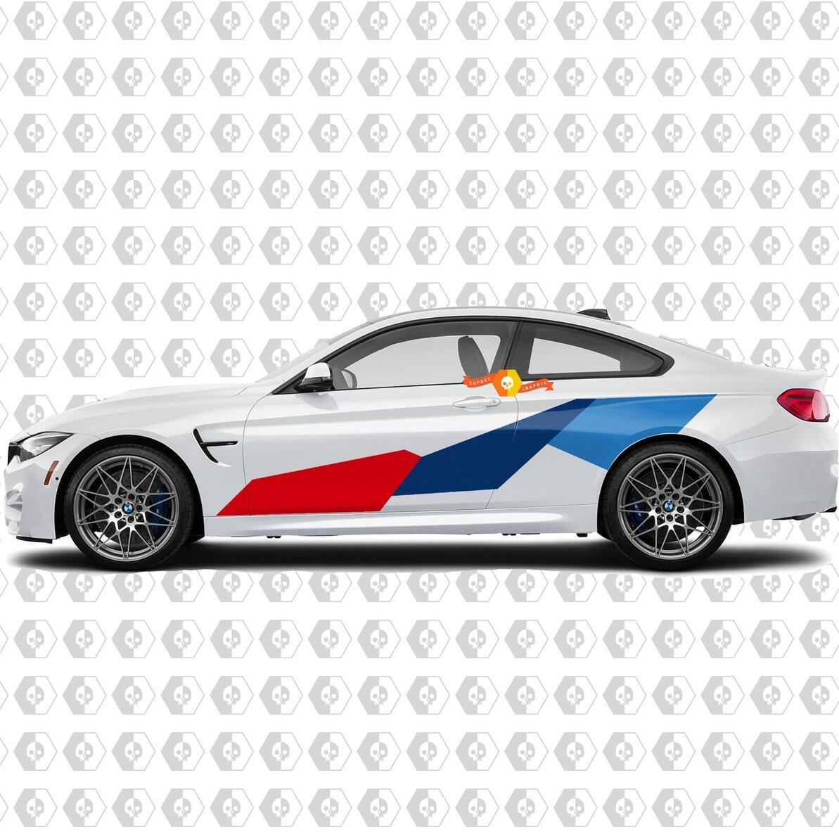 BMW M Power M Performance Riesenseite Neue Vinyl-Aufkleber Aufkleber Für M4 M2 M5