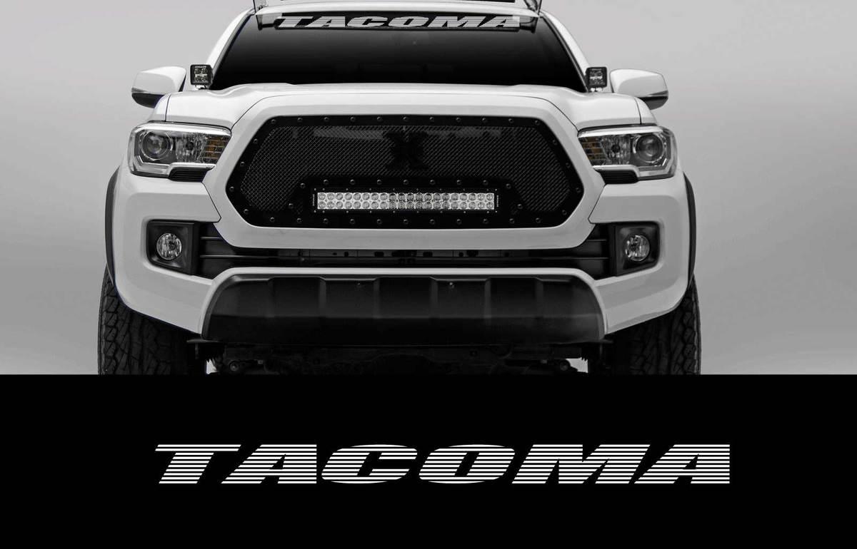 Tacoma 46 Zoll Windschutzscheibe Banner Aufkleber Toyota Truck Off Road Sport 4X4 2wd 4wd