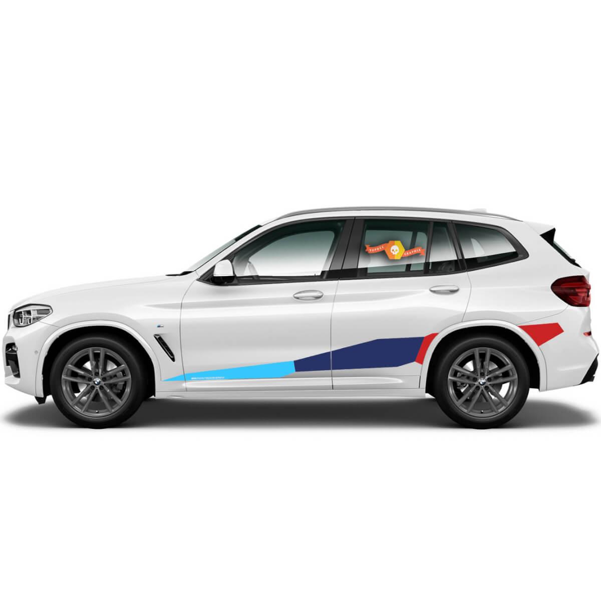 BMW M Power M Performance Riesenseite Neue Vinyl-Aufkleber für BMW G05 G06 X5 X6 Serie X5M X6M F95 F96