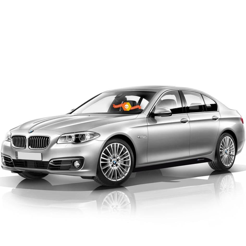 2 BMW M Performance Set Seitenstreifen für M5 F10 F11