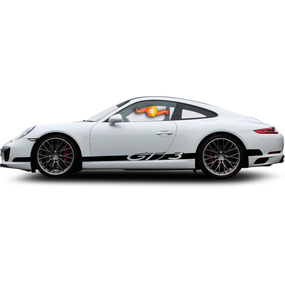 Porsche GT3 Racing Seitenstreifen Für Carrera Seitenstreifen