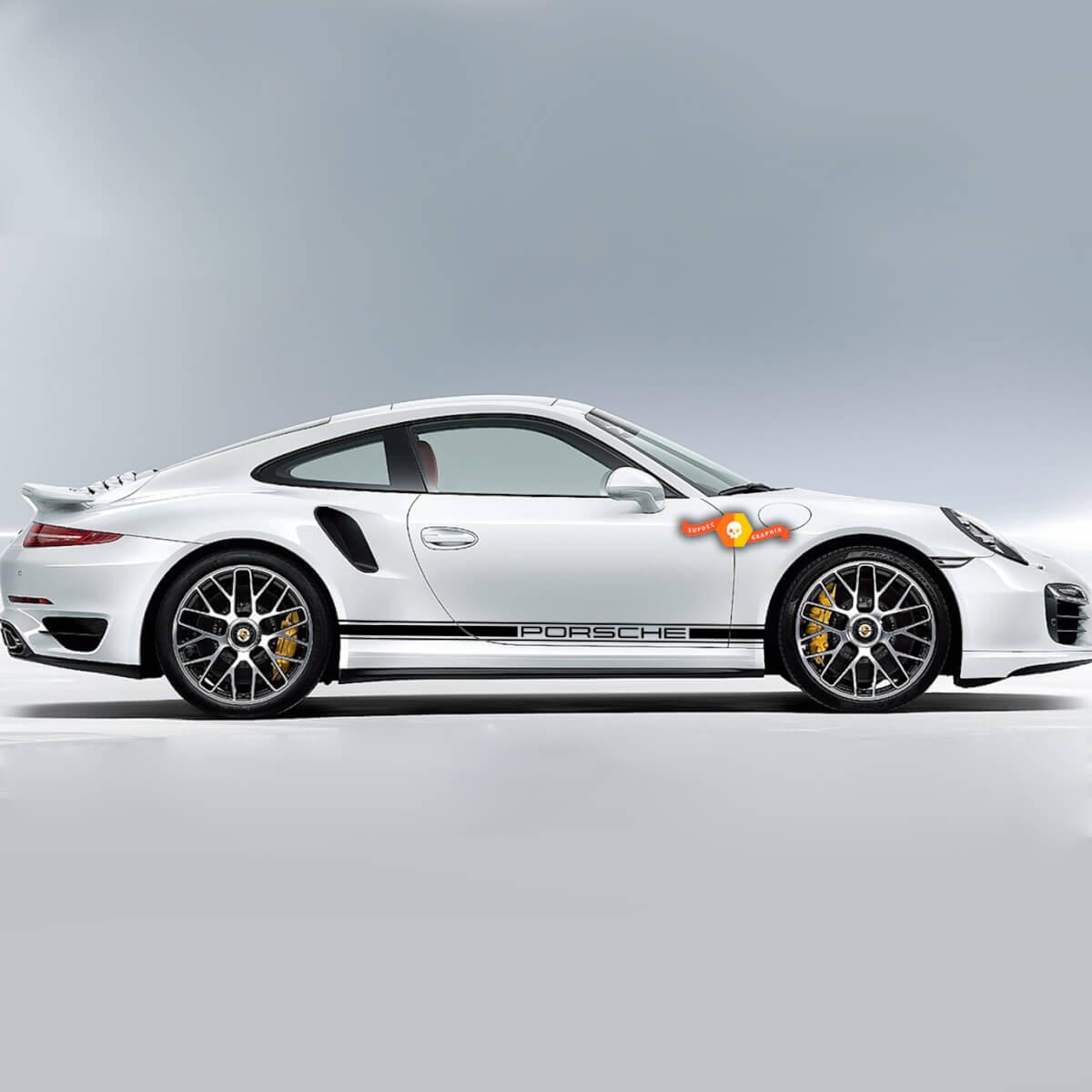 Porsche One Color Side Stripes Side stripes one color Or Any Porsche