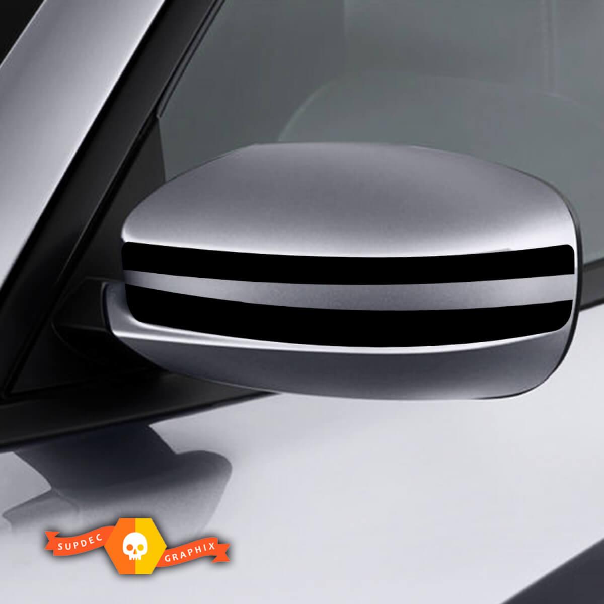 Dodge Charger Mirror Decal Aufkleber Streifengrafiken passt zu Modellen 2011-2016