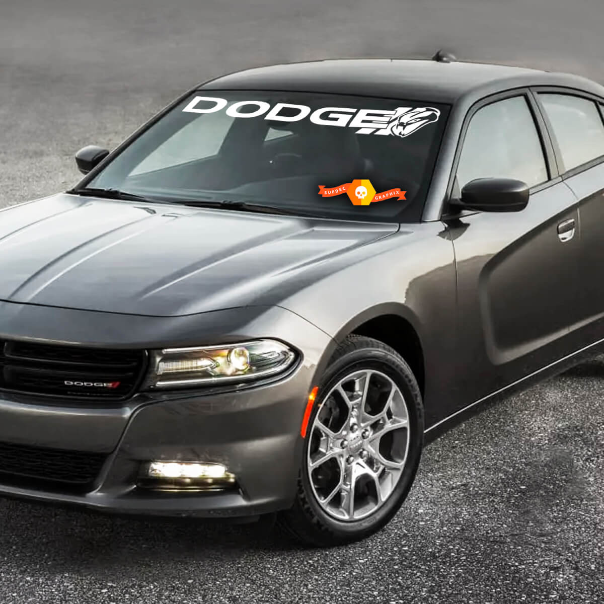 Dodge Charger  Windshield Decal Sticker graphics fits to models 11-16