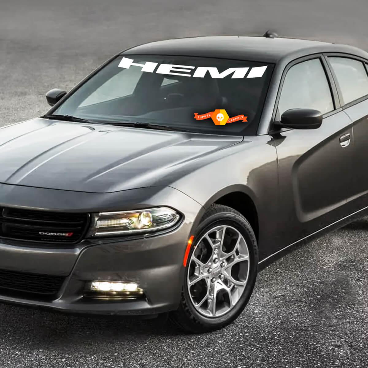 Dodge Charger HEMI Windshield Decal Aufkleber Grafiken passt zu den Modellen 11-16