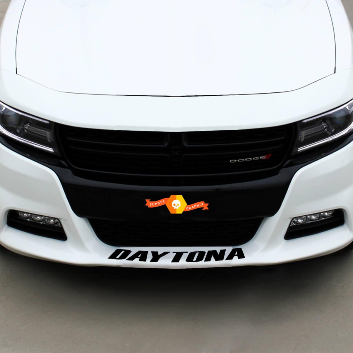 Dodge Daytona Retro Front Spoiler Aufkleber Aufkleber Grafiken passt zu allen Modellen