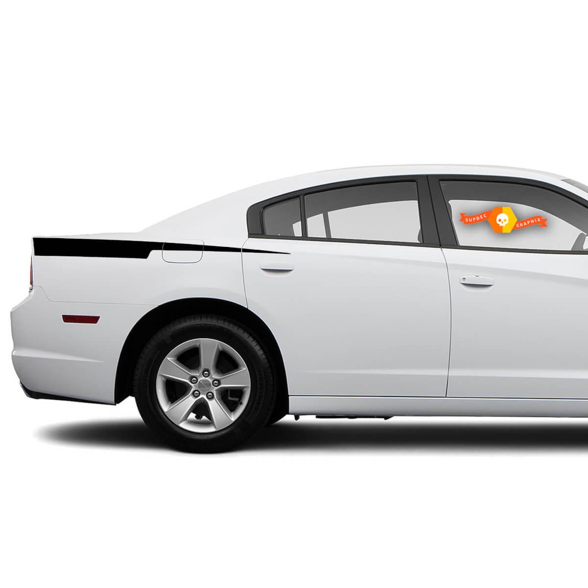 Dodge Charger Rasiermesser Aufkleber Aufkleber Seitengrafiken passen zu Modellen 2011-2014