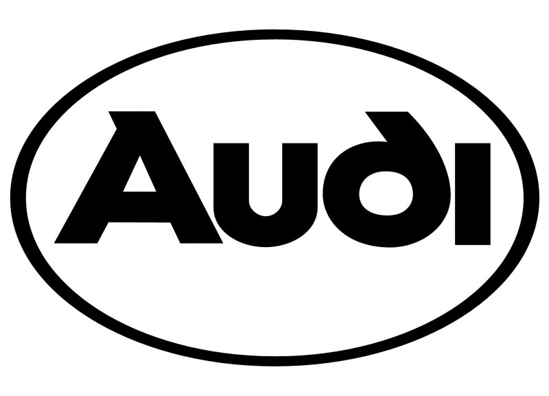 audi 1998 self adhesive vinyl sticker decal