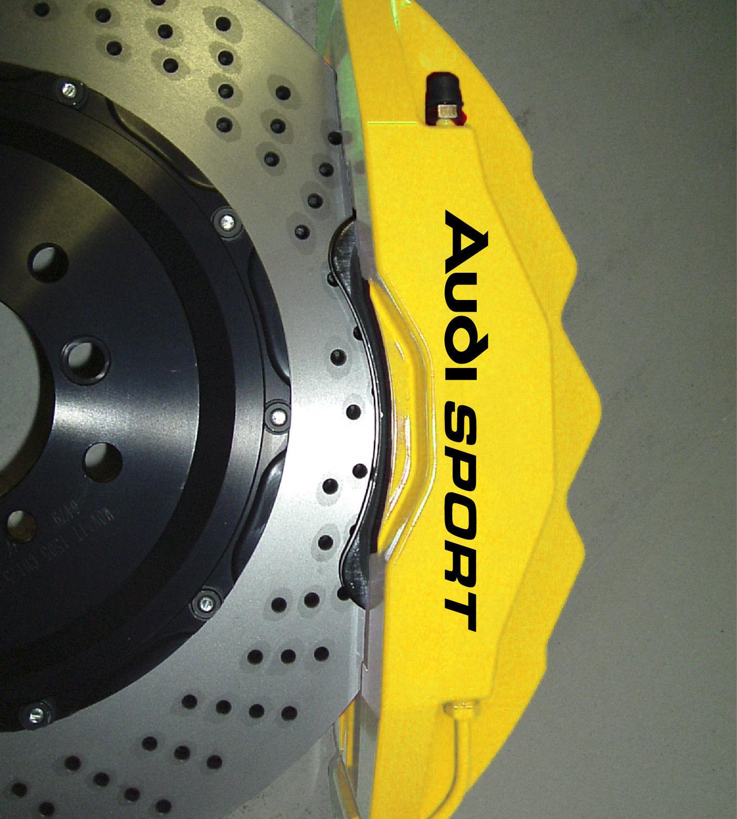 Product Audi Sport Premium Brake Caliper Decals Stickers Tt S3 S4 S6 Q5