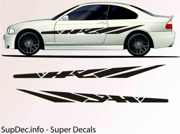 auto decals vinyl auto body graphics exterior outside decal