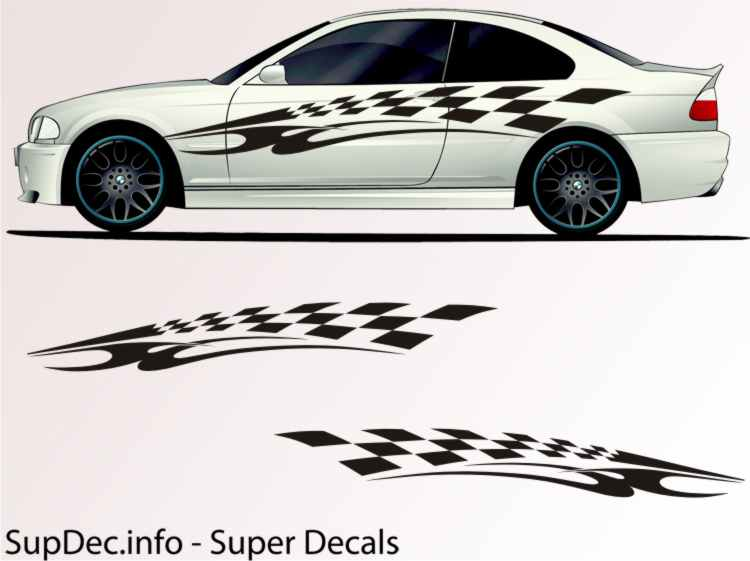 product vinyl auto body graphics exterior outside decal sticker b707