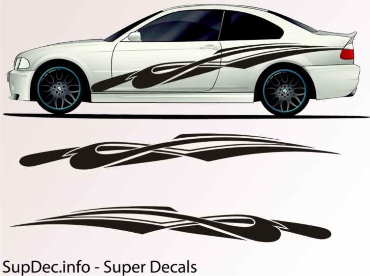 Vinyl Auto Body Graphics Decal Sticker Car