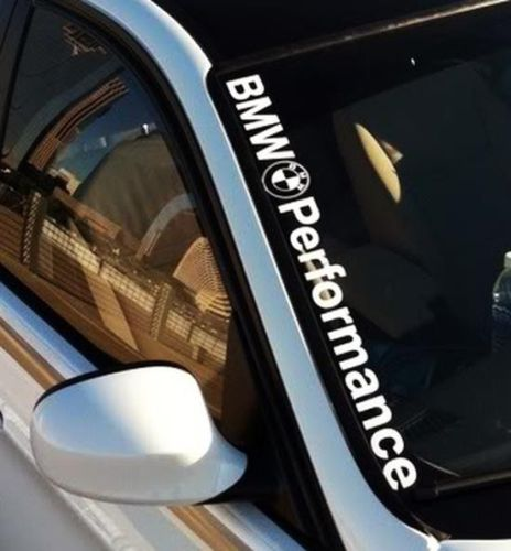 BMW Performance M3 M5 E34 E36 E39 E46 E60 E70 E90 Windshield Decal sticker logo
