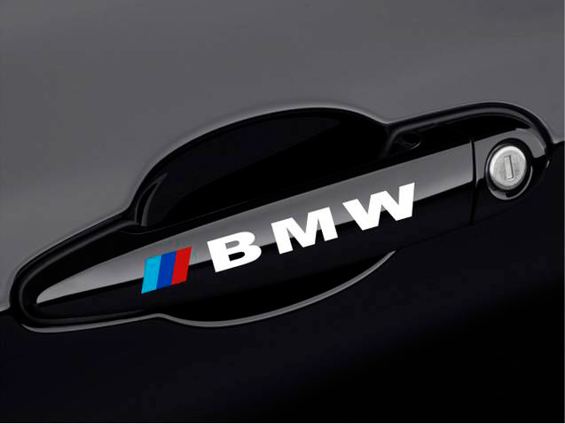BMW Door Handle M M3 M5 M6 E30 E36 E46 E60 3 SERIES Decal sticke