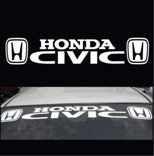Multiple Color Graphic Car Racing Decal Sticker for Honda Accord Civic FIT CR-Z