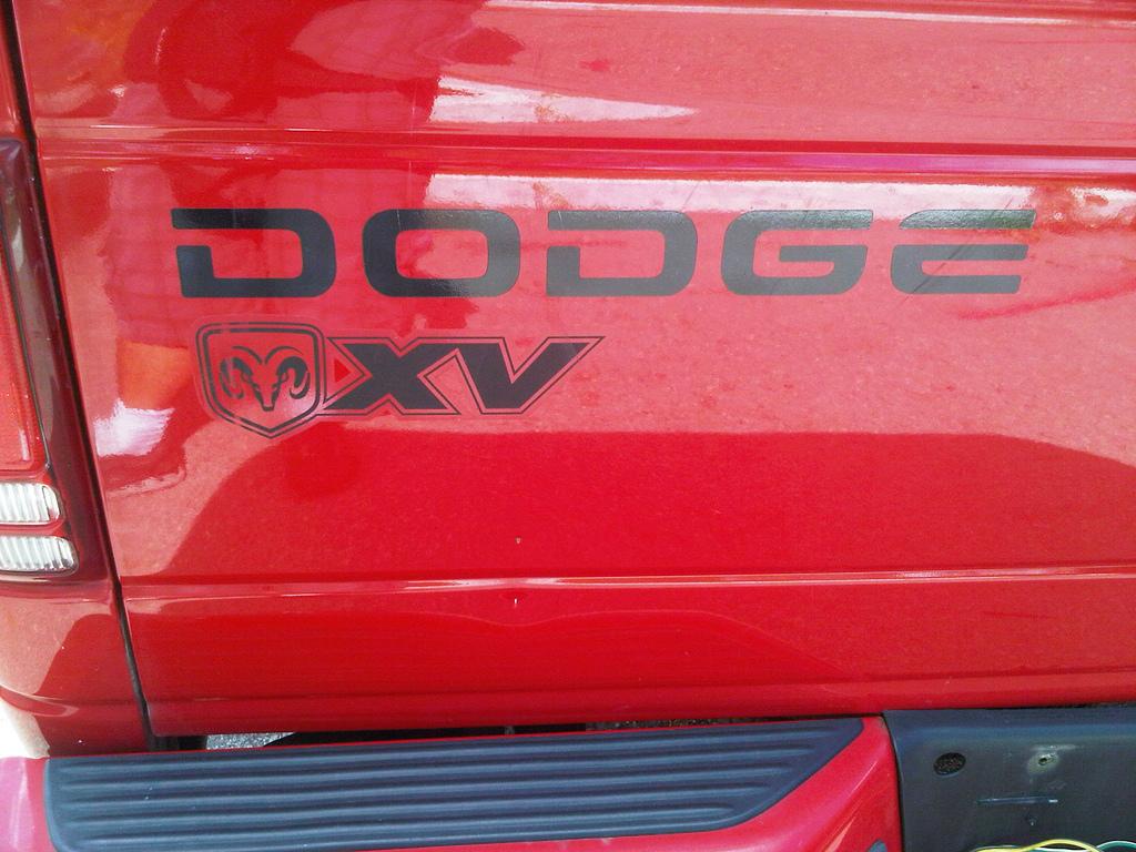 Dodge Dakota XV RAM LKW Vinyl Aufkleber Aufkleber