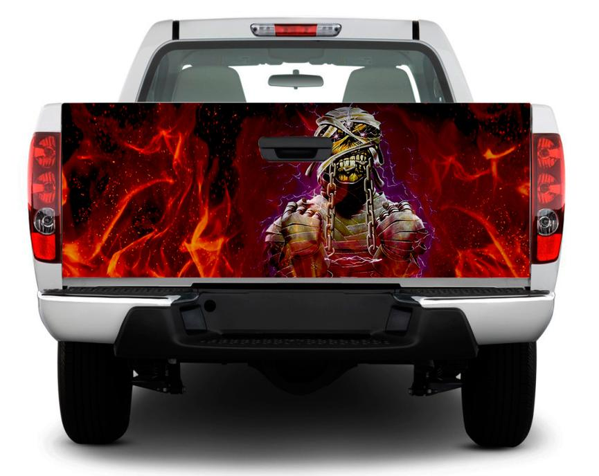 Product Eddie The Ead Edward Iron Maiden Tailgate Decal Sticker Wrap Pickup Truck Suv
