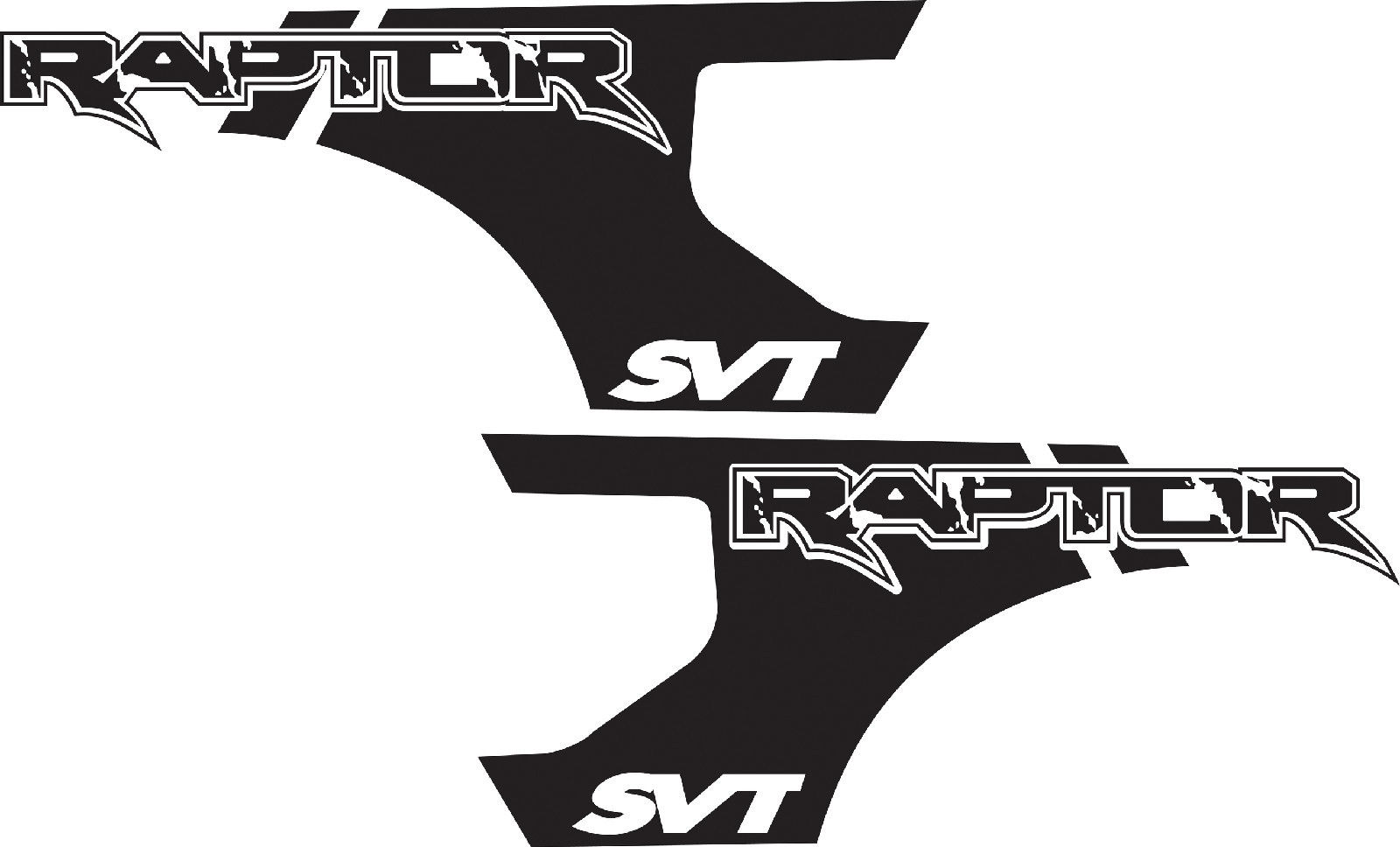 product ford f 150 raptor svt bed decals graphics