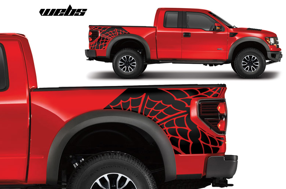 Graphics For Ford Truck Decals And Graphics Wwwgraphicsbuzzcom - Truck bed decals customford f vinyl graphics for bed fender