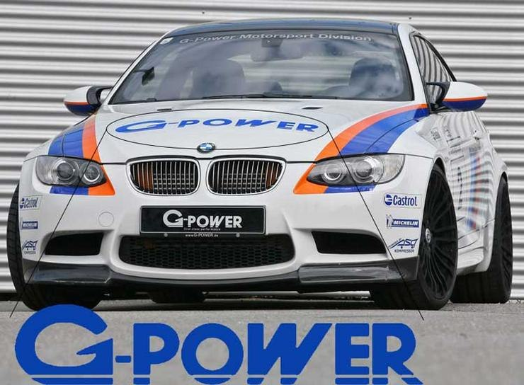 BMW G Power Motorsport M3 M5 M6 E36 E39 E46 E63 E90 Decal Sticke