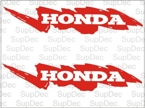 Honda 2 decals