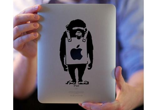 Affe iPad Aufkleber Aufkleber