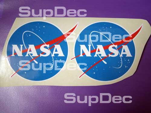 NASA Vinyl Aufkleber Aufkleber