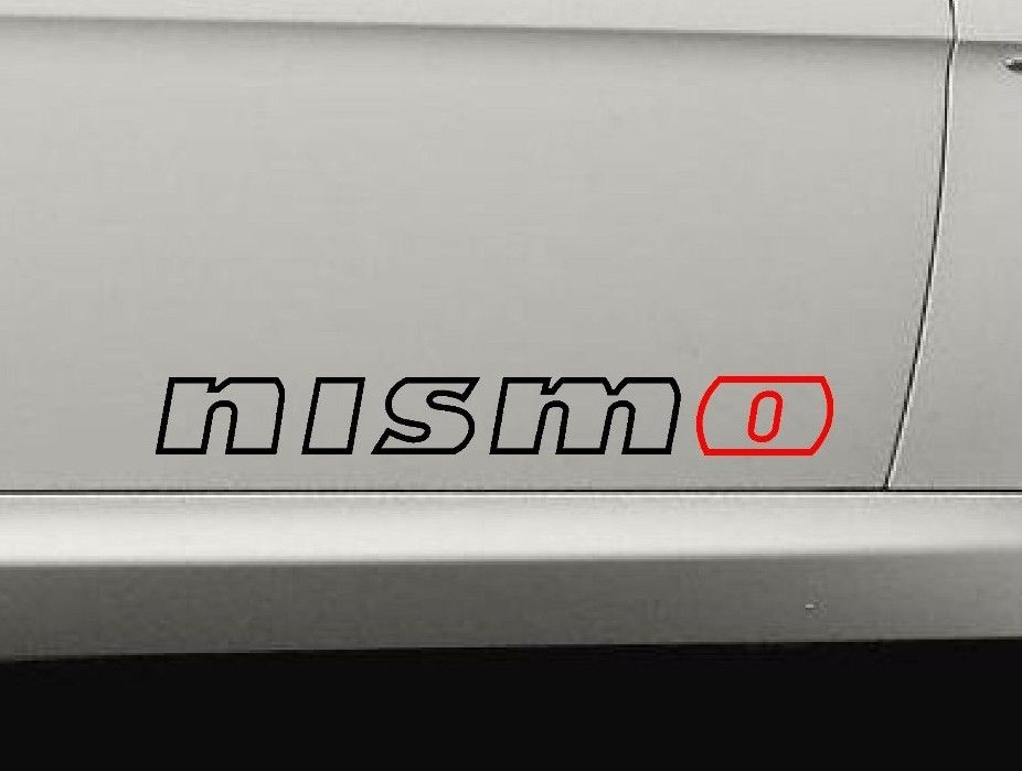 Product Nismo Outline Nissan Altima Sentra Stickers