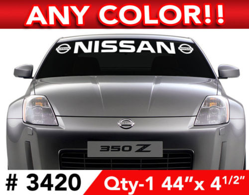 NISSAN MAXIMA ALTIMA 370 Z DECAL STICKER 44