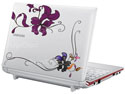 Laptop flowers #1