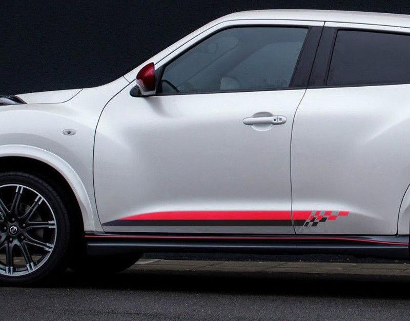 Nissan juke decal rocker stripes side graphics decal door panel decal nismo