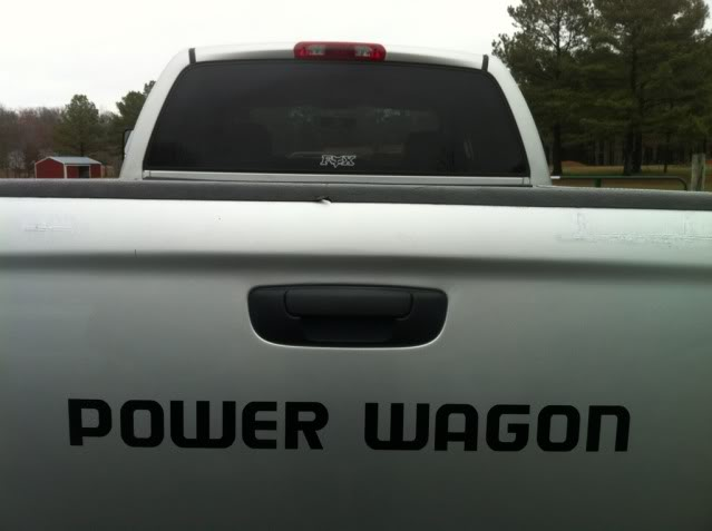Power Wagon Stickers >> Product 2 Power Wagon Truck Vinyl Decals Stickers