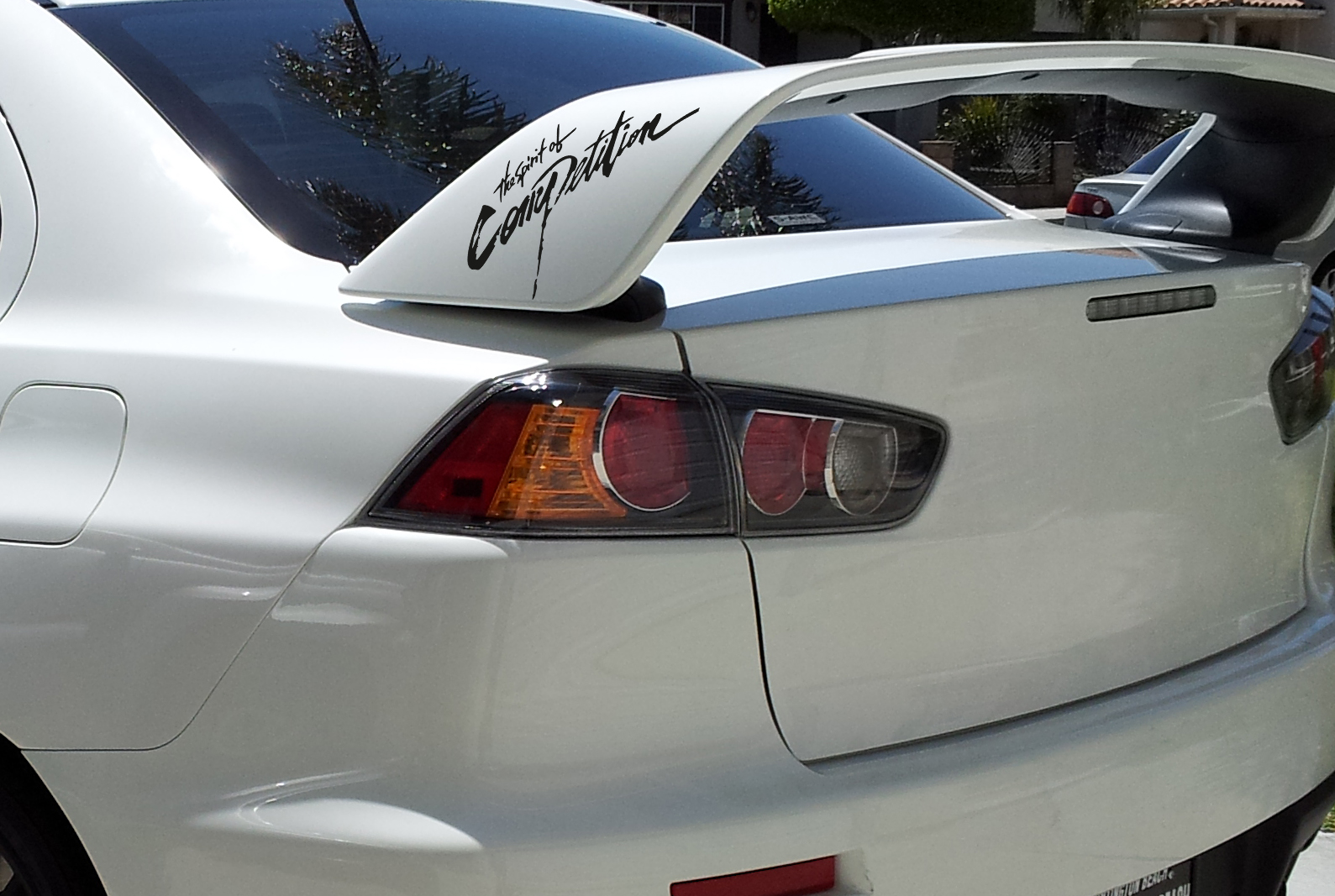 Car sticker design competition - 2x The Spirit Of Competition Racing Sport Wd 4x4 Car Mitsubishi Lancer Evo V Vi Vii Viii Ix X Vinyl Sticker Decal