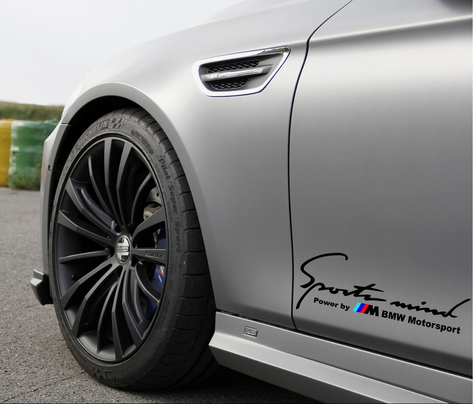 Product Sports Mind Power By M BMW Motorsport M M Decal Sticker - Sport decal stickers for cars