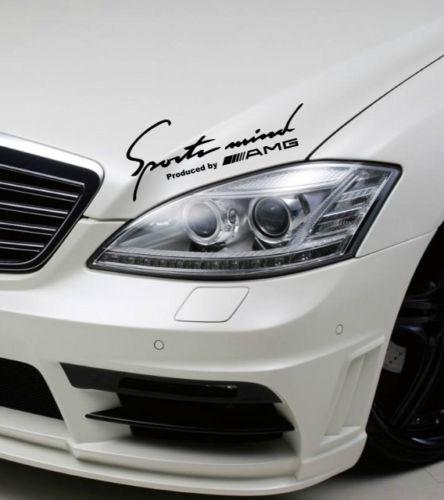 2 Sports Mind Produziert von AMG Mercedes Benz clk63 Decal