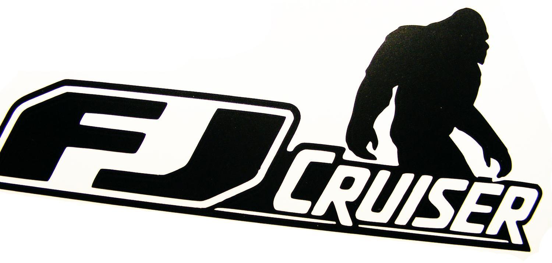 Fj Cruiser Sticker >> Toyota FJ Cruiser 4x4 Off Road Car Vinyl Decal Sticker