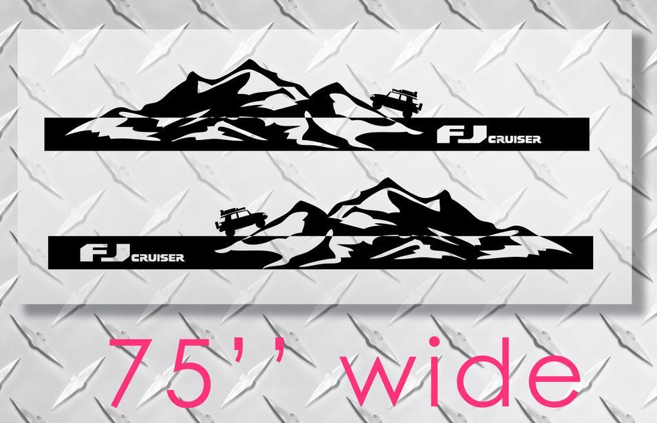Product Toyota Fj Cruiser Mountains Side Trim Strobe