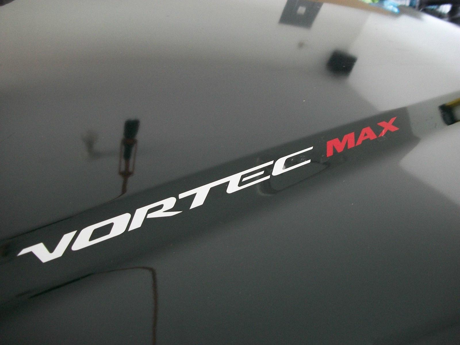 Product 2 sets vortec max hood sticker decals emblem chevy silverado gmc sierra denali