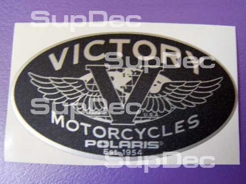 Victory  silver 2 decals