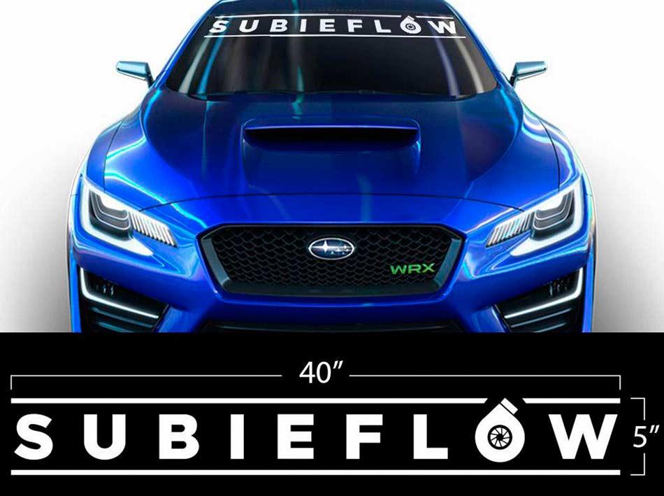 Product Vinyl Decal Wrap Banner Subieflow Subaru Wrx Sti