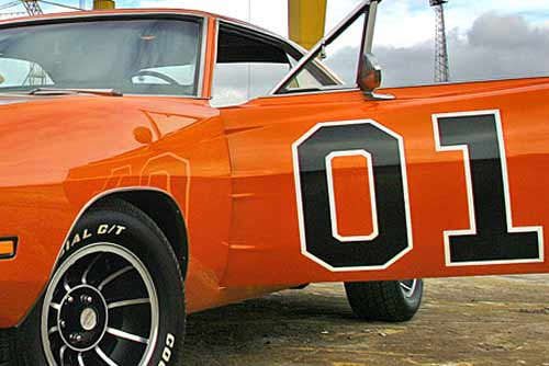 Product General Lee Decal Kit