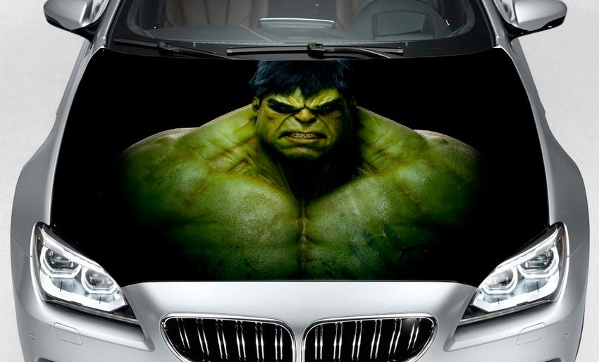 Hood hulk marvel comics decal sticker print