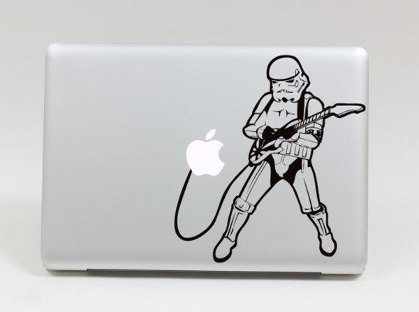 Music lover Imperial Stormtroopers stars wars MacBook Decal Stic