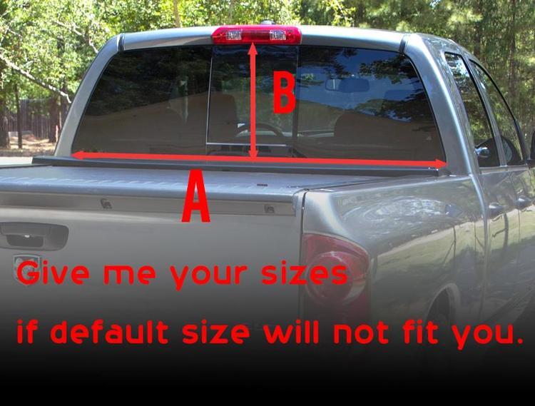 Product Comics Ms Marvel Rear Window Decal Sticker Pickup Truck - Rear window stickers for trucks